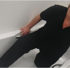 How to avoid bathroom falls as mobility declines