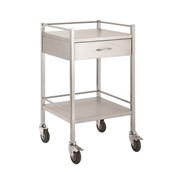 Stainless Steel Hospital Rounds Trolleys