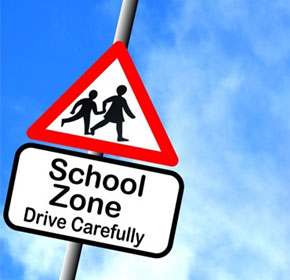 Boom gates increase safety for school students