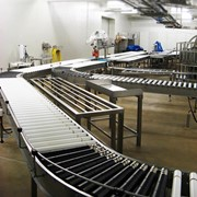 Powered Roller Conveyor | Tranzband | Lineshaft Conveyor