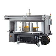 Automatic Corrugated Squaring and Strapping System | XS-88CS