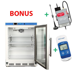 Vaccine Fridge 135LT + Bonus Data Logger and Auto Dialler | NULHR200GK