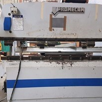 Promecam 80 tonne X 2500mm CNC Press Brake