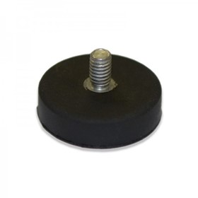Rare Earth Rubber Coated Male and Female Threaded Pot Magnets