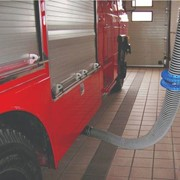 Vehicle Exhaust/Fume Emmisions Ducting Hose Reels