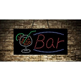 Animated Open Bar Store LED Sign