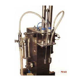 Automatic Two Head Liquid Filler