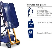 Electric Powered Electric Bin Lifter | Electrodrive Liftmaster Rugged
