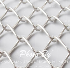 Stainless Steel 304/316 Chain Wire Fencing