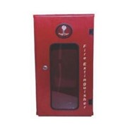 Fire Extinguisher Cabinet - Red Epoxy Coated Metal