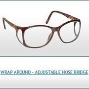 Radiation Protection Eyewear | Wrap Around Adjustable Nose Bridge