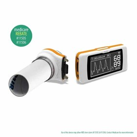 Spirodoc Spirometer with SpO2 and optional 3D Oximeter