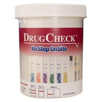 DrugCheck NxStep Urine Drug Screen | 7 drugs + Alcohol