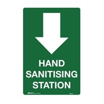 Emergency Information Signs - Hand Sanitising Station