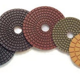 "4"" Standard wet polishing pad"