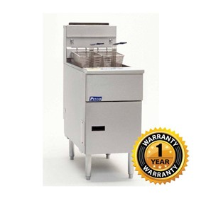 Pitco Economy Series Gas Fryer  35C+S
