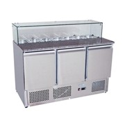 Atosa Pizza Table Saladette Prep Refrigerator