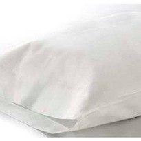 White disposable Pillow Cover Case