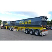 Side Tipping Trailer | Aluminium Top Hinged Door