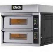 Electric Double Deck Pizza Oven With Electronic Control