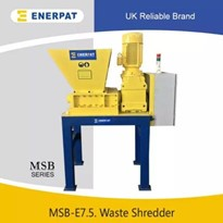 Double Shaft Shredder Manufacturer for Medical Waste | MSB-7.5