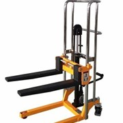 400kg Manual Platform Stacker with Adjustable Forks