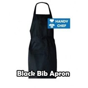 Chef  Black Bib Aprons