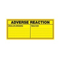 Adverse Drug Reaction Label | Drug or Dressing | Reaction