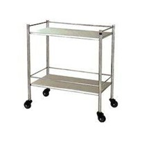MEDICAL GRADE TROLLEY CLEARANCE STOCK! DOUBLE TROLLEY