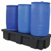 Polyethylene Drum Dund with Removable Grates – Three Drum