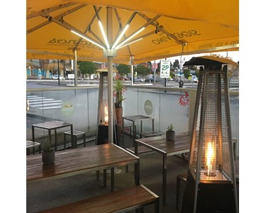 Pacino's Restaurant Melbourne with Integrated LED lights