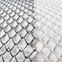 Hot Dipped Galvanized Chain Link Fence Wire Mesh