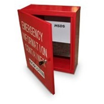 Emergency Information Cabinet
