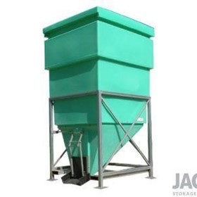 1600L Side Discharge JACKY Hopper Bin
