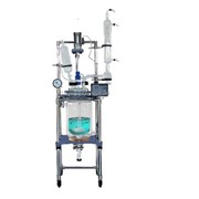 Jacketed Reactors | R-series 10L Single/dual Glass Reactors