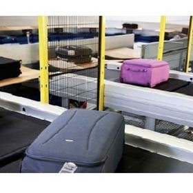 High Capacity Tilt-Tray Baggage Sortation Systems LS-4000ECON