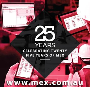 MEX Maintenance Software celebrates 25th anniversary