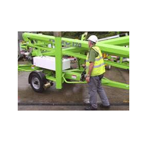 Powered Trailer Mount Positioning System