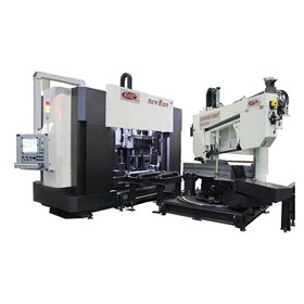 CNC Beam Drilling and Sawing Machine | Run 7