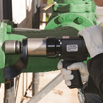 Controlled force pneumatic torque wrenches optimise speed and safety