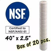 Water Filter Cartridges | S40A-5A-Box