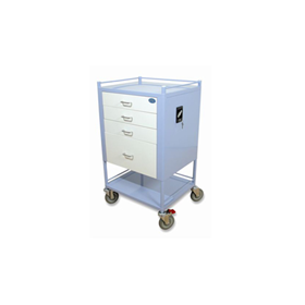Stainless Steel Medication Trolley | Oxford