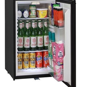 Silent 60 Litre Motel Quiet Mini Bar Fridge