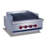 F.E.D GasMax CharGrill NG/LPG Grill Top With 4 Burner | QR-24E-C