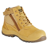 Work Boots | Hard Yakka Utility Side Zip