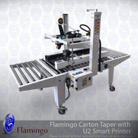 Flamingo Carton Taper with Batch Coder | EFBT-80U