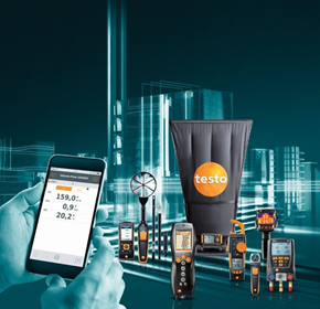 Testo tools to monitor all areas of any building