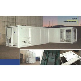 Containerised Wastewater Treatment | DMBR-C
