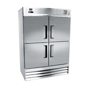 Mitchel Refrigeration Stainless Steel Refrigerator - Four Half Door
