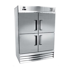 Stainless Steel Refrigerator - Four Half Door